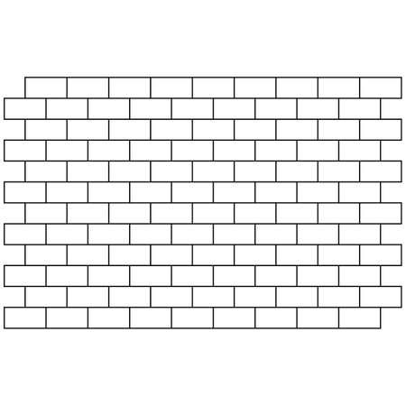 white brick wall background. bricks pattern. seamless brick wall.