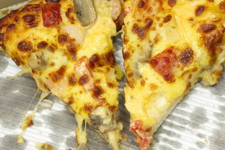 carnes y verduras: Pizza