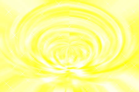 Abstract yellow space Light twirl effect background Stock Photo
