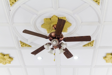 Ceiling Fan Stock Photo - 19019022