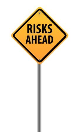 risks ahead: Riesgos firmar por delante