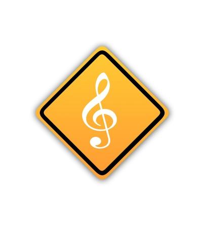 violinschl�ssel: Violinschl�ssel Zeichen