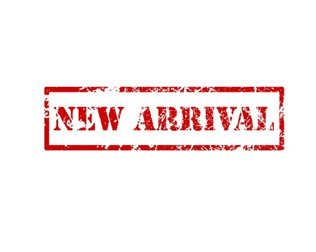 new arrival: New arrival Rubber Stamp