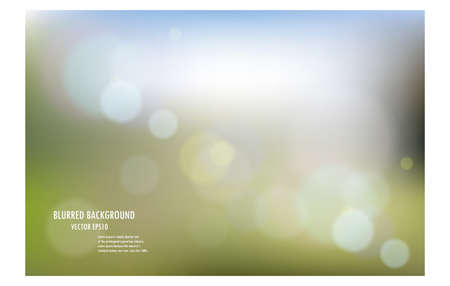 vector illustration of soft colored abstract blurred light background layout design , can be use for background concept or festival background. Vector