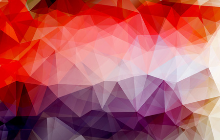 low poly colorful abstract geometric rumpled triangular style.vector illustrator graphic design background template. Vector