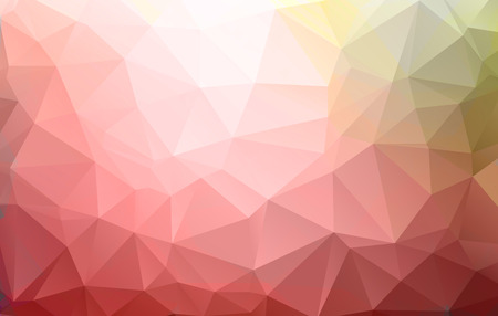 colorful abstract geometric rumpled triangular low poly style.vector illustrator graphic design background template. Vector