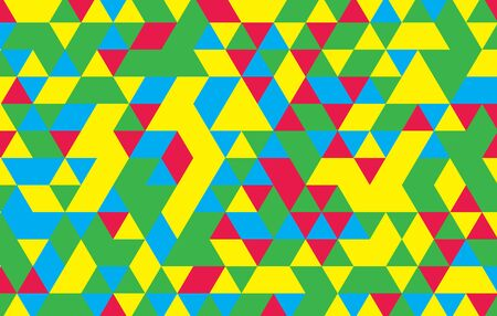 color spectrum: Spectrum geometric background made of triangles. Retro hipster color spectrum grunge background.