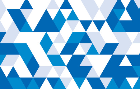 blue geometric pattern template design.vector illustrator background. Vector
