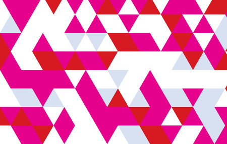 trendy tissue: pink triangle pattren template design.geometric background.