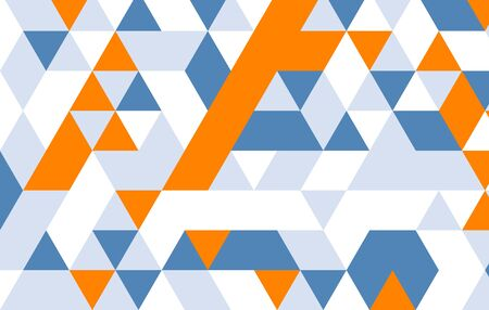 design pattern: geometric pattern.yellow blue gray triangle design pattern template.