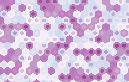 motif geometriques: hexagone violet background.Vector conception de mod�le g�om�trique. Illustration