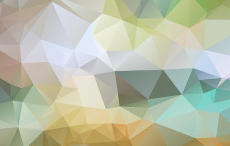 カラフルな抽象的な幾何学的なしわくちゃ三角形低ポリ style.vector イラストレーター グラフィック デザインの背景テンプレートです。