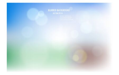 vector illustration of soft colored abstract blurred light background layout design , can be use for background concept or festival background. Vektoros illusztráció