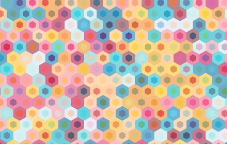 motif geometriques: hexagone color� background.Vector conception de motif g�om�trique.