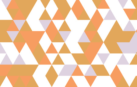 Modern geometric pattern with triangle design template.