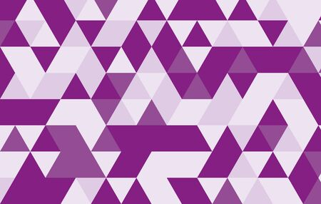 purple geometric pattern background.triangle pattern vector design template.