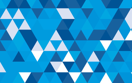 blue abstract triangle pattern design background template. Çizim
