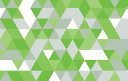 green abstract geometric background.triangle pattern vector design template.