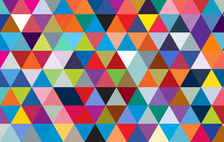 colorful triangle abstract design background.geometric pattern template.