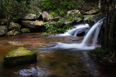 kradueng: Waterfall at Phu Kradueng national park, Thailand