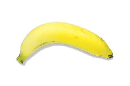 banana with white background