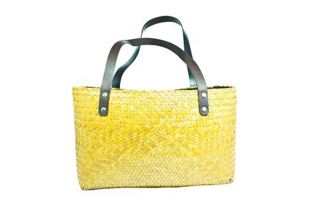 handicraft bag made by sedge