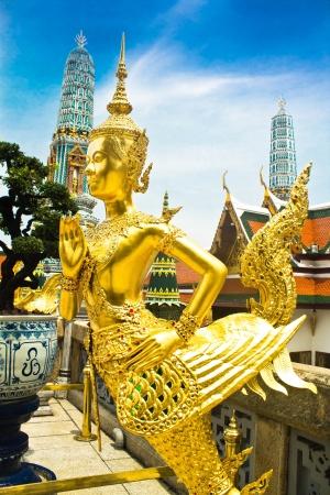 krung: deity at Wat PraGaew, The Royal Grand Palace - Bangkok, Th