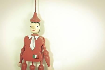 Pinocchio pupet photo