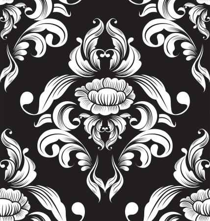 floral seamless pattern for design  Vector Illustration