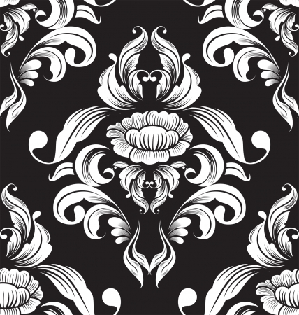 floral seamless pattern for design  Vector Illustration
