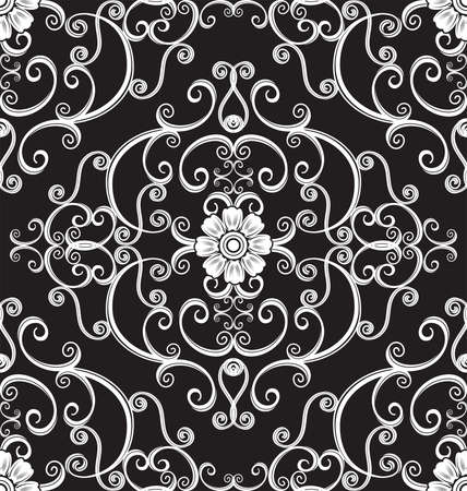 swill: floral seamless pattern for design. Vector Illustration