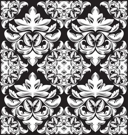 bloemen naadloos patroon voor design. vector Illustration
