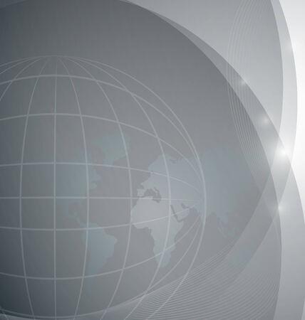 世界中の背景のベクトル イラスト