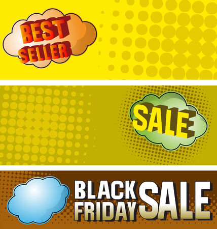 featured: Vector illustration of   promotion sale banner
