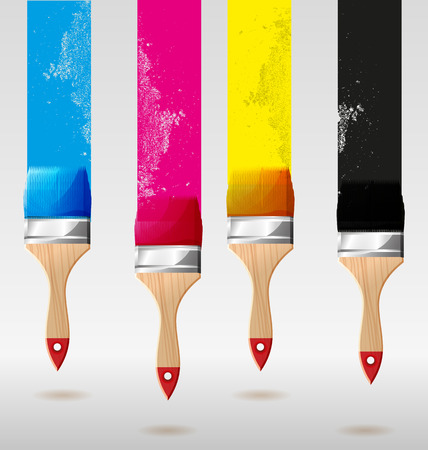 redecorate: Vector illustration of   Paint brush