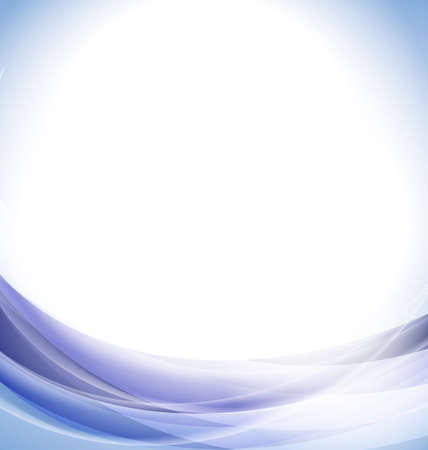 wavy background: Abstract blue wavy background Stock Photo