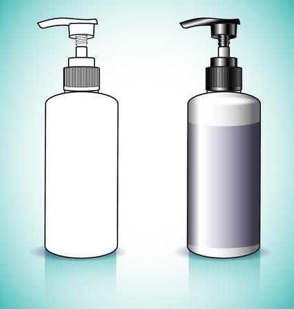 intimate: Gel, Foam Or Liquid Soap Dispenser Pump Plastic Bottle