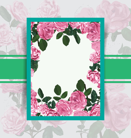 floral card  pattern . Vector Illustration