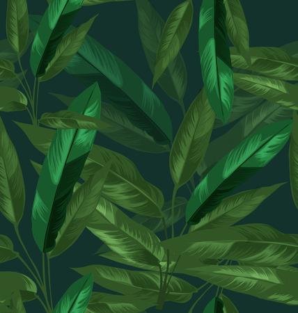 리프 원활한 패턴의 그림
