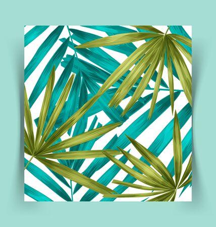 nature pattern: Illustration of leaf  pattern background