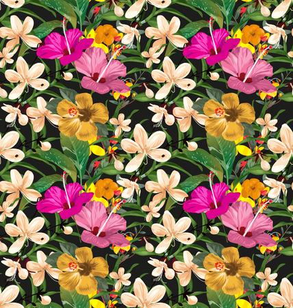 Illustration seamless floral