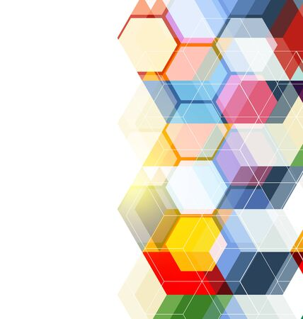 consistency: Vector Illustration of  abstract  background. Technology polygonal design. Illustration