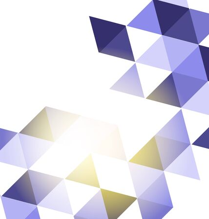 Abstract low poly vector background, triangle pattern.