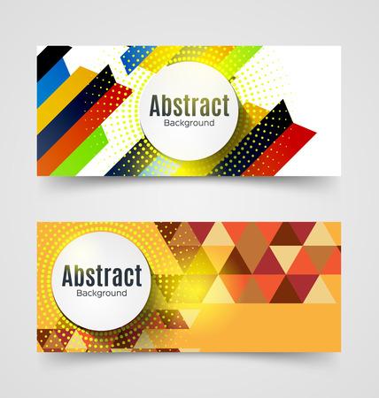 Vector Illustration of abstract background. Technology polygonal design. Vektoros illusztráció