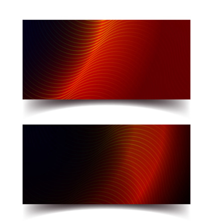 Wavy abstract technology background vector