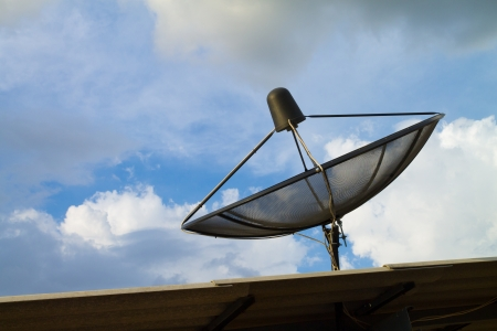 a antena parab Imagens