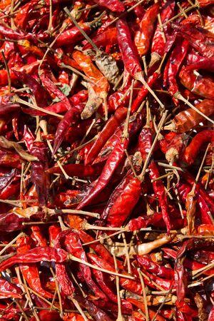 perto pimenta vermelha seca pode usar como pano de fundo