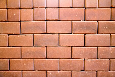 red brick wall for backgrounds or wallpaper Stock Photo - 17628072