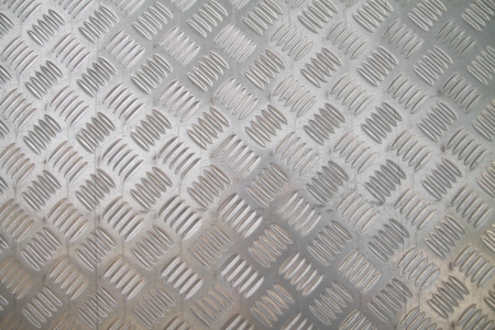 checker plate floor surface texture steel grip metal grating Stock Photo - 17628076