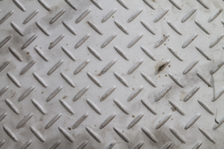 checker plate floor surface texture steel grip metal grating Stock Photo - 17628071